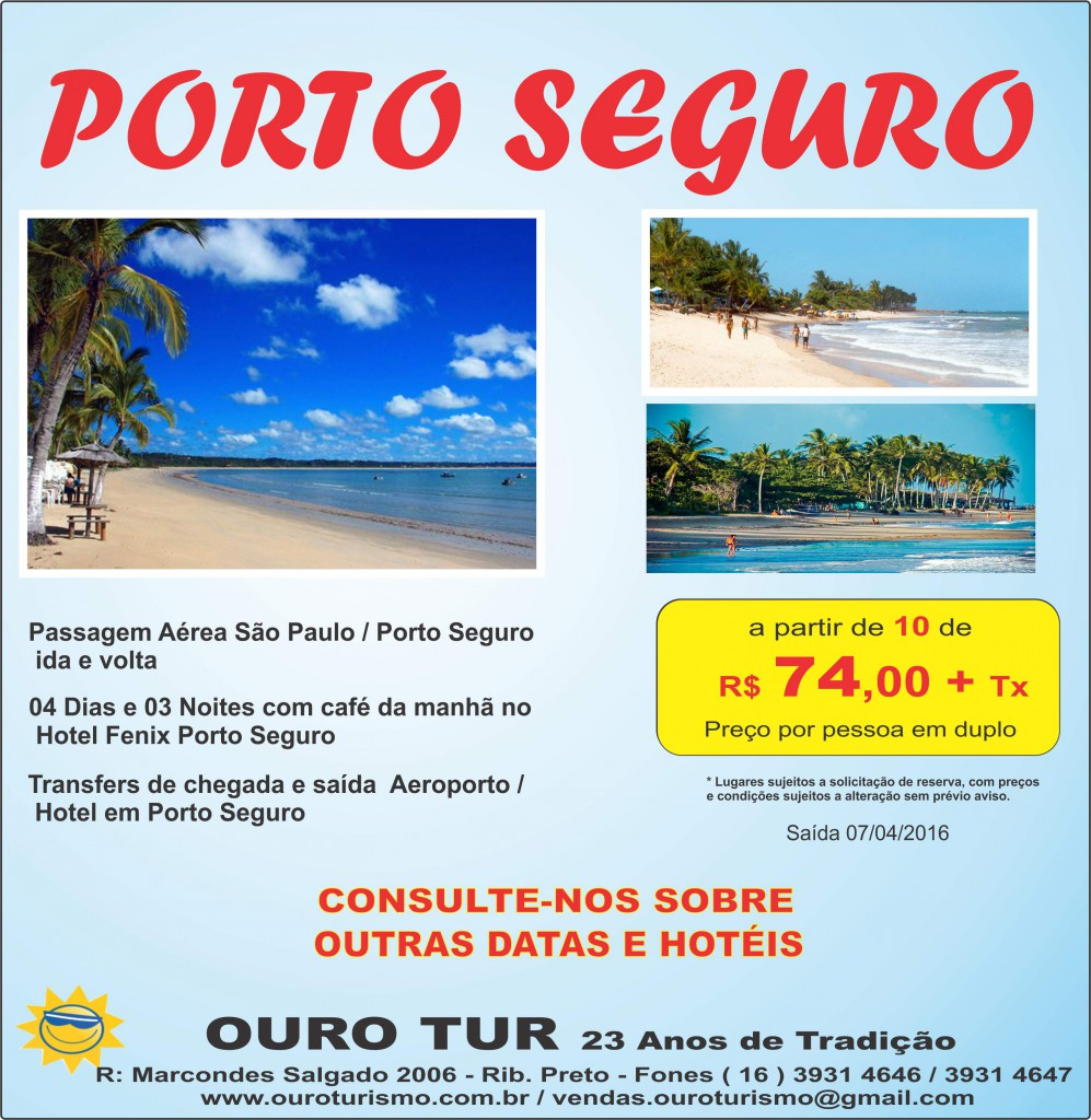 Porto Seguro 2016.DEC15